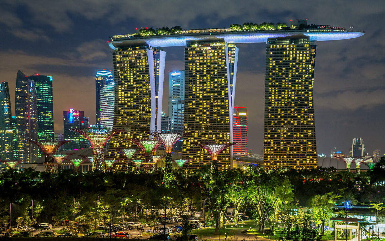 Singapore City 4k Hd Wallpaper For 4k Ultra Hd Tv Desktop
