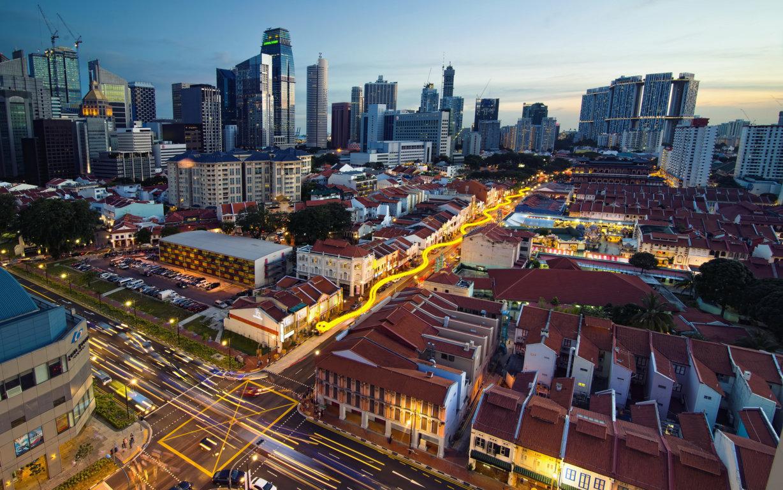 Singapore City 4k Hd Wallpaper For 4k Ultra Hd Tv Dual Desktop