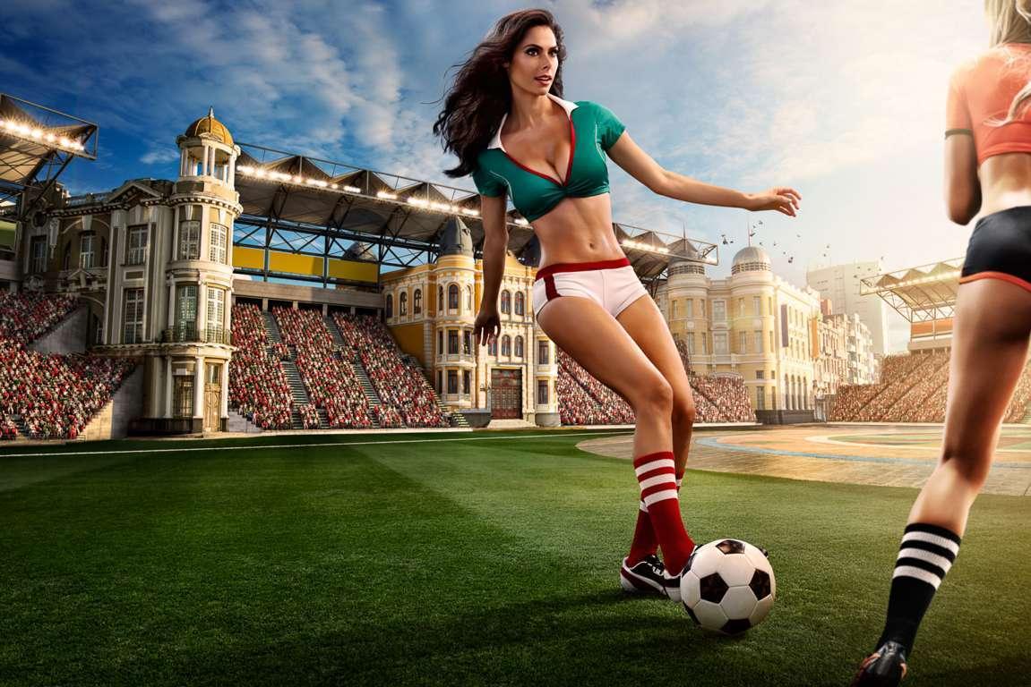 Soccer Stadium 4K Wallpaper HD