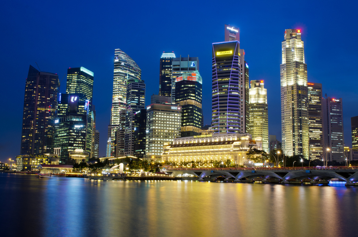 Supertree Grove Gardens By Bay Singapore 4k Hd Desktop The