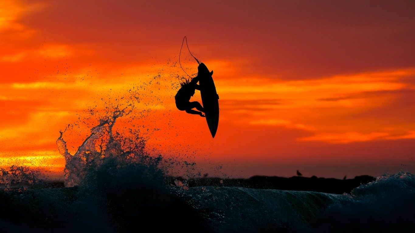 Surfing Image Colourful Surfing Hd Wallpaper