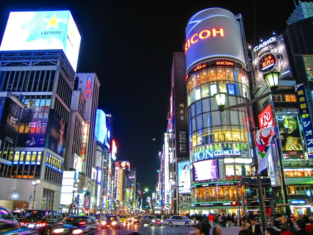 Tokyo Hd Wallpaper And Image Background