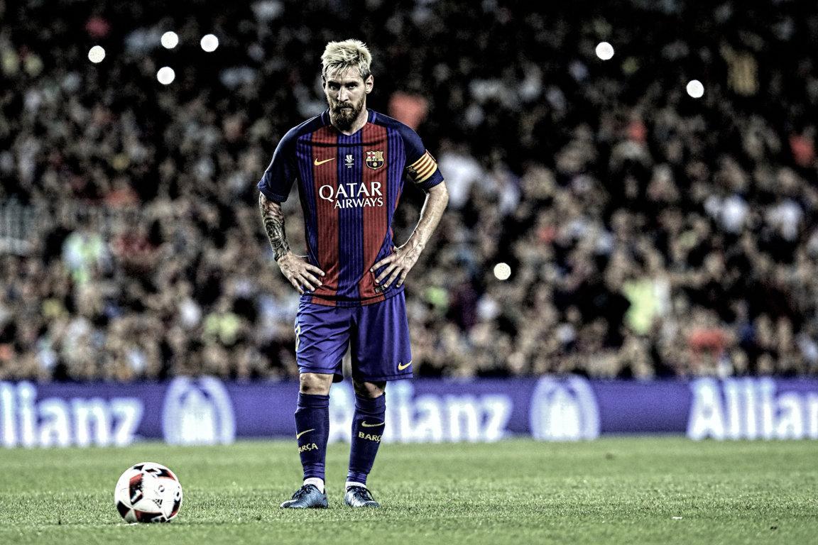 Wallpaper Lionel Messi 2017 HD