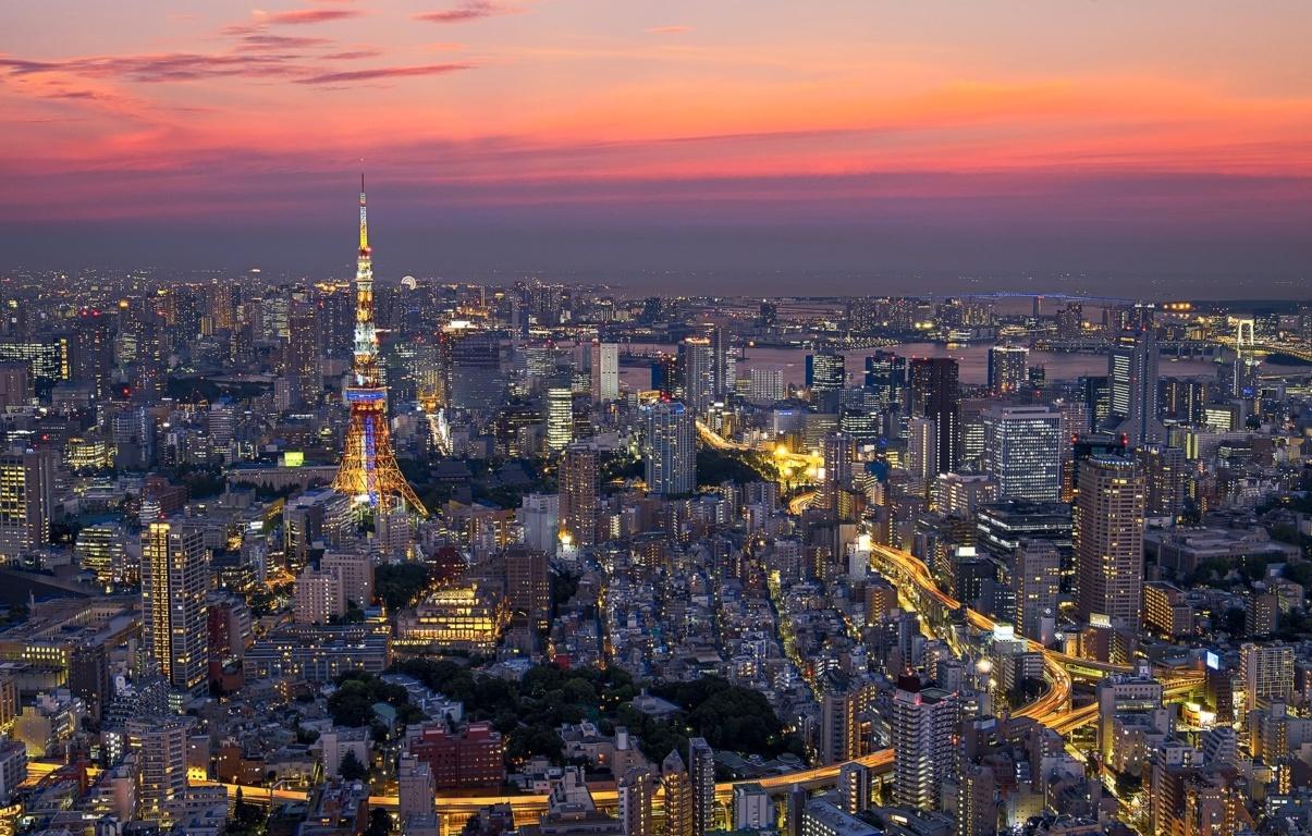 Wallpaper Tokyo filter photography