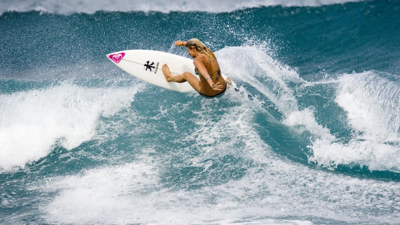Wave Ocean Surf Surfing Hd Wallpaper
