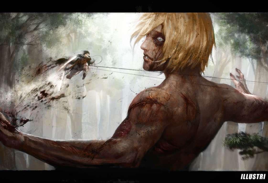 attack on titan 4k wallpaper