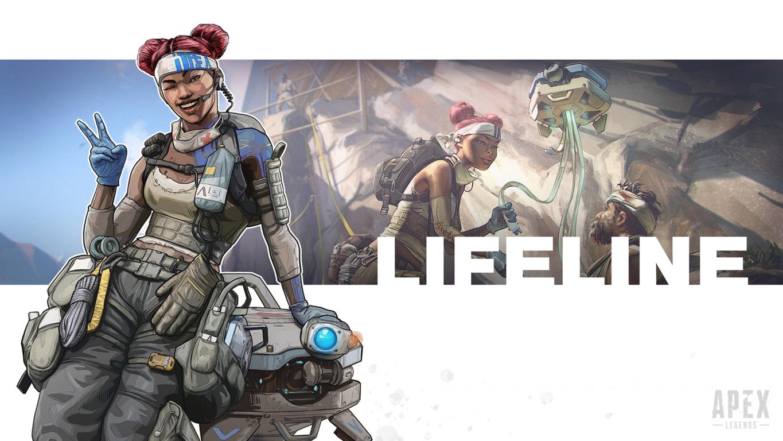 Apex Legends Intel Amazing Wallpaper Of Lifeline Phone