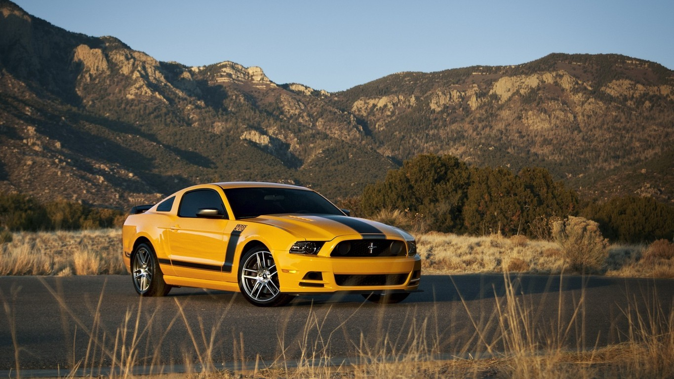 Ford Mustang Gt Red Muscle Car Hd Cars 4k Wallpaper Image Front
