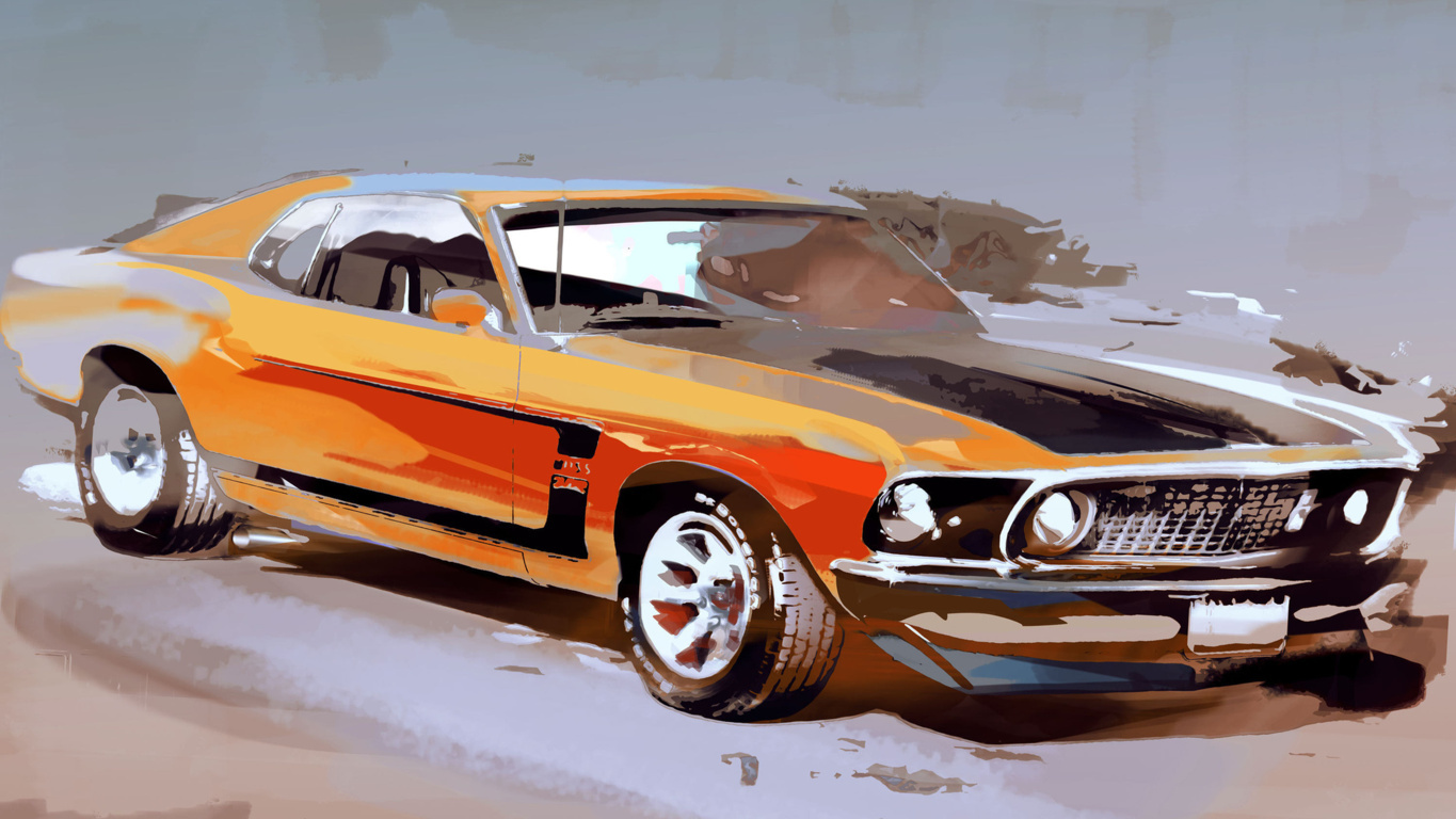Ford Mustang Hd Wallpaper Background Image And