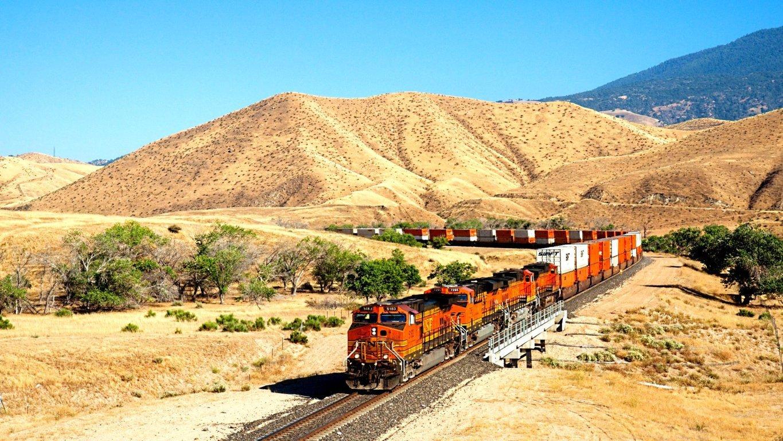 HD Train Tracks Wallpaper