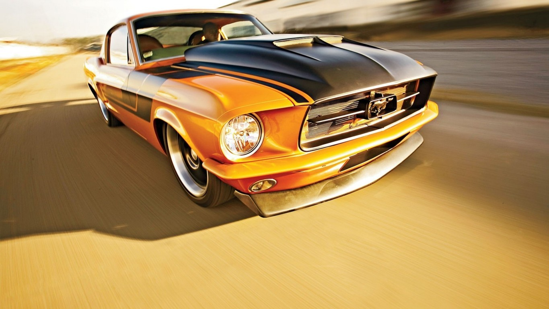 HD Wallpaper Mustang