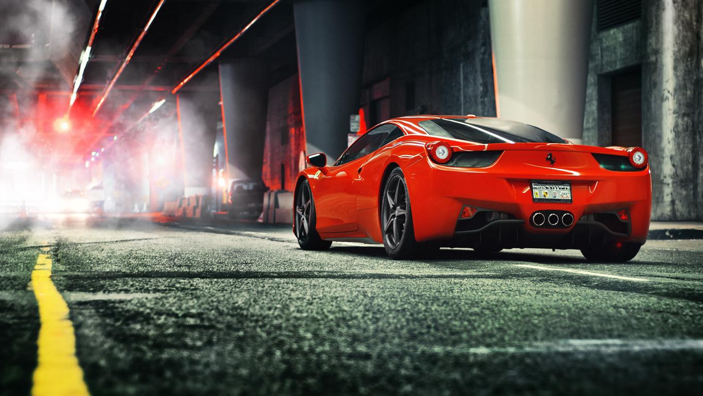 LB Performance Ferrari Italia Wallpaper