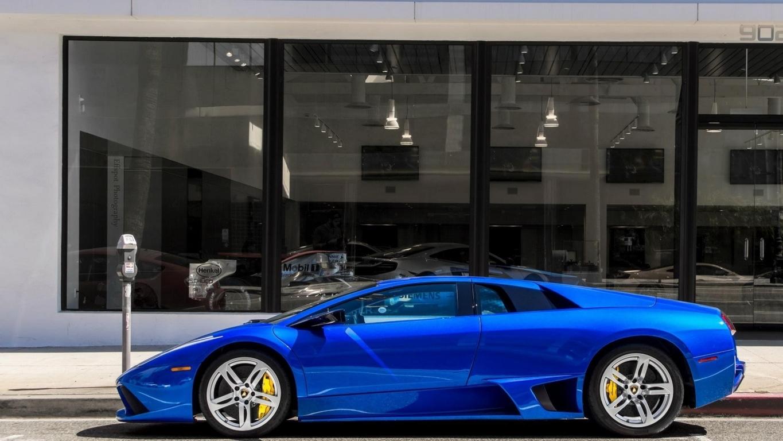 Lamborghini Aventador Night Shot Wallpapers