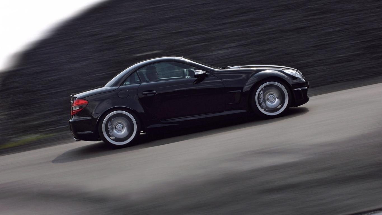 Mercedes Benz Slk Roadster Wallpaper Traffic Automotive