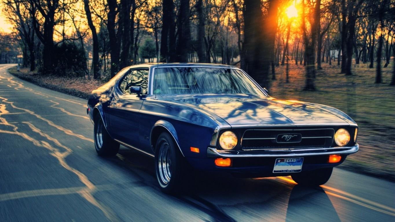 Old Mustang Wallpaper