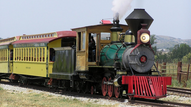Train Hd Wallpaper Background Railway Wallpaper