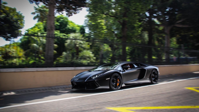 Wallpaper Lamborghini Aventador 4k Fiber Automotive Cars Carbon