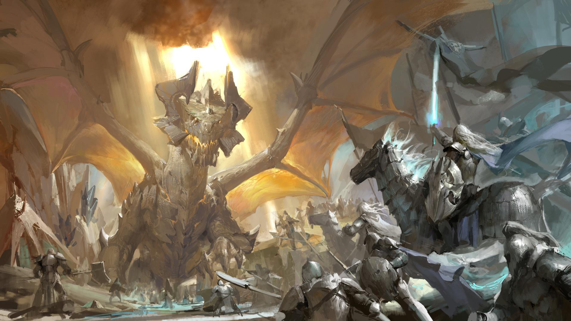 Download Fantasy Dragons Image Wallpapers