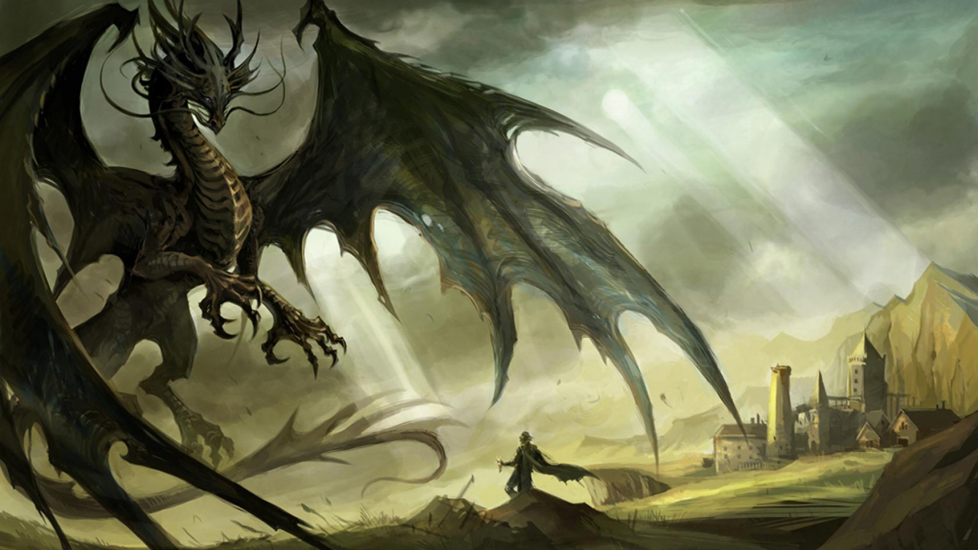 Dragon & Dragon Related Background