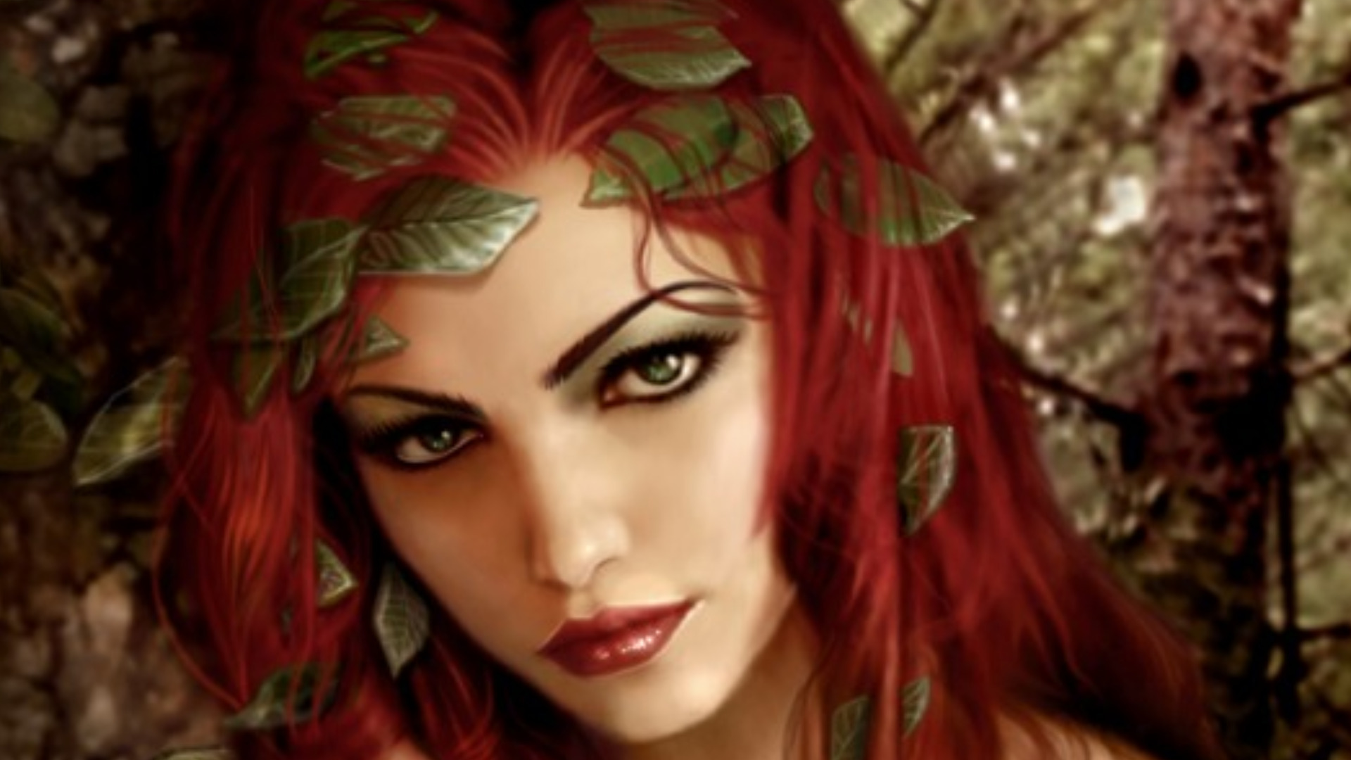 Fantasy Girl Background