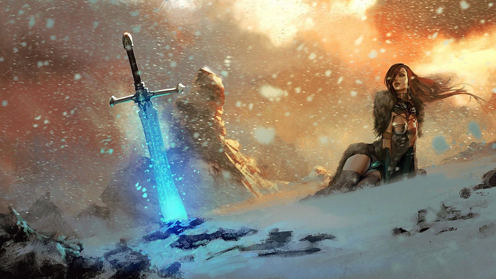 Fantasy Girl Wallpaper HD