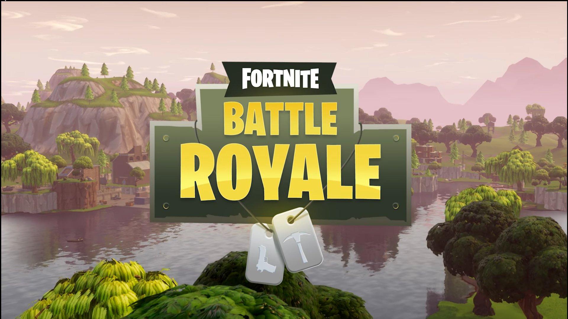 Fortnite Battle Royale Multiplayer Wallpaper