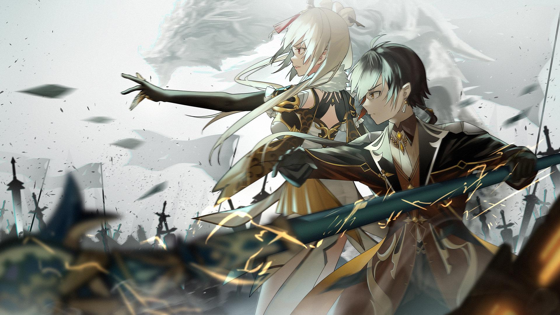 Genshin Impact Zerochan Anime Image Board 4K