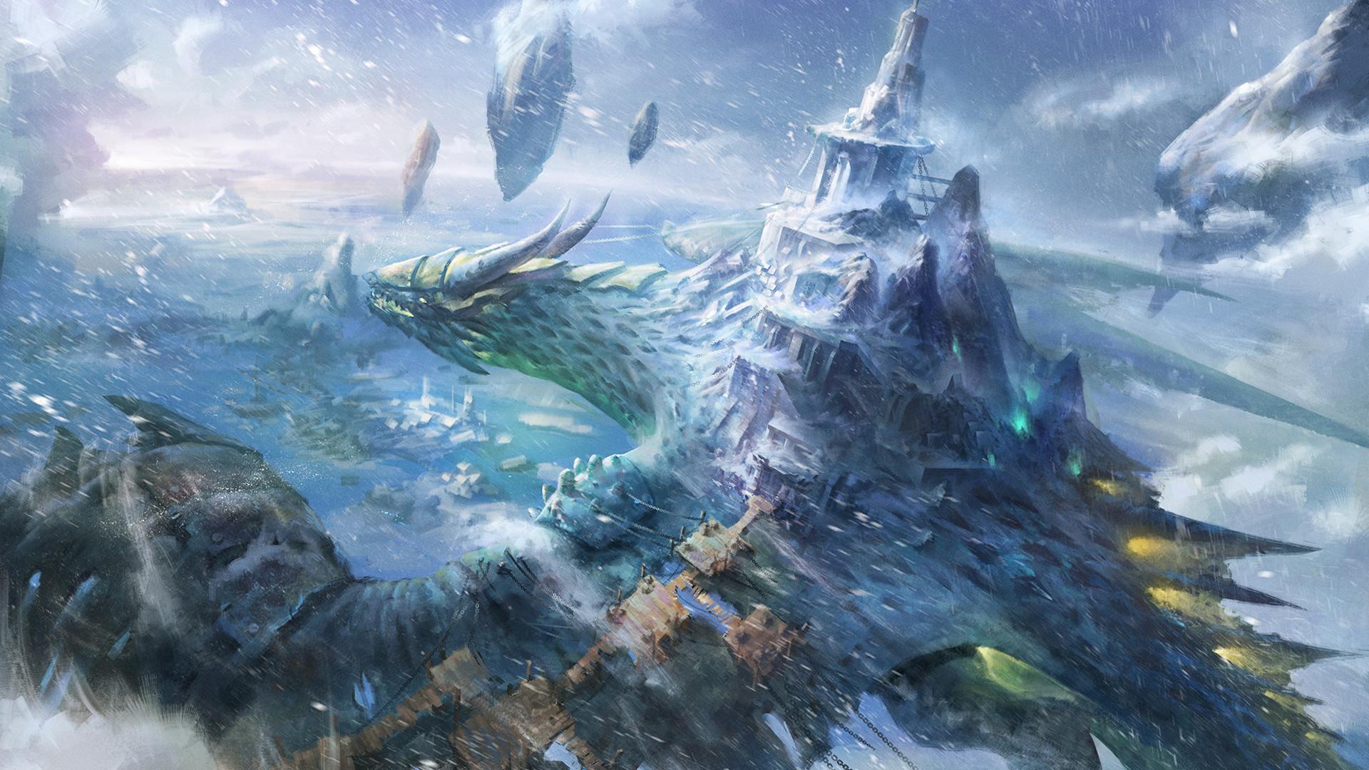 Incredible Little Dragon Fantasy Wallpapers Desktopaper
