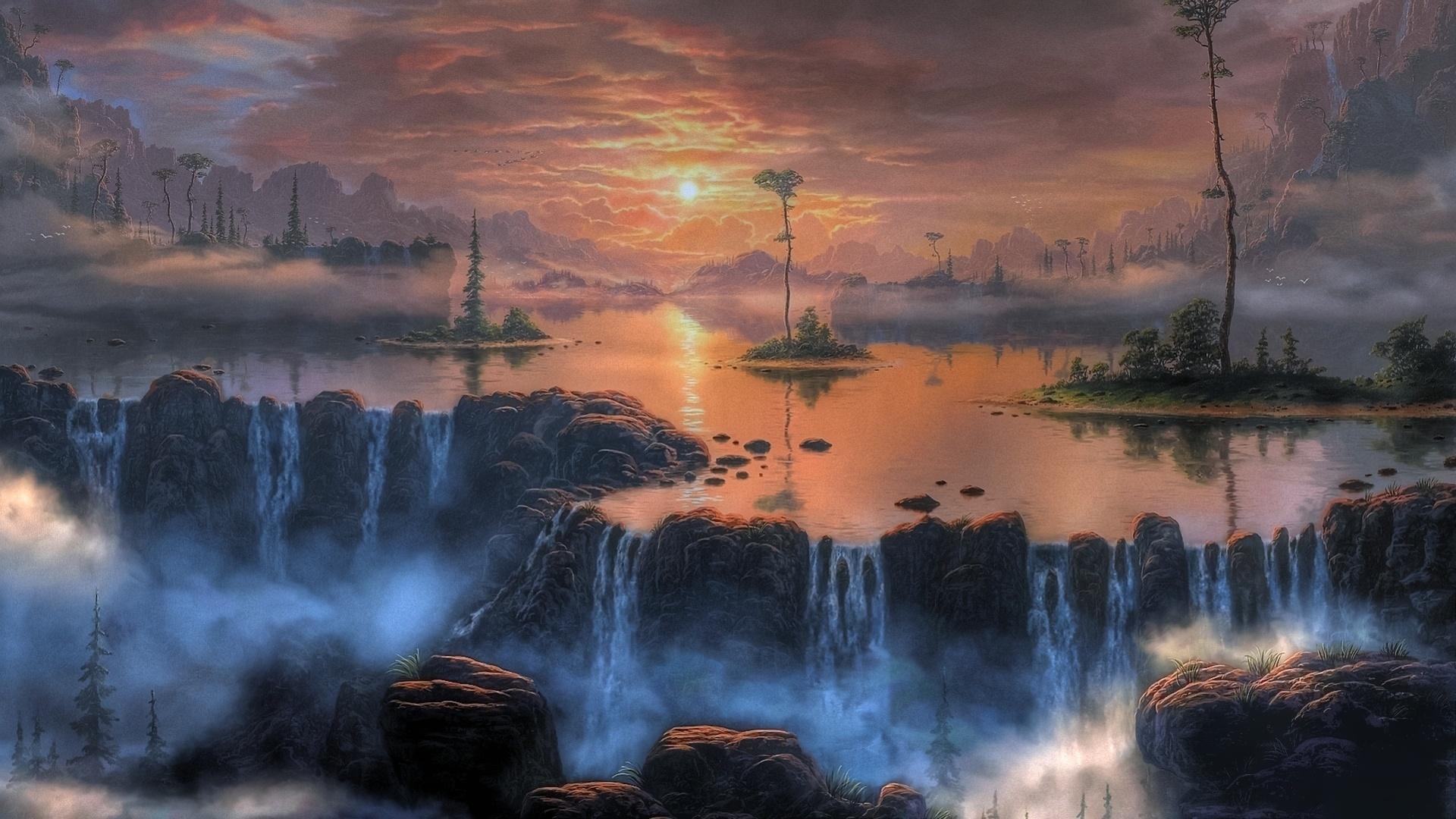 Res Fantasy Landscape Download Wallpaper