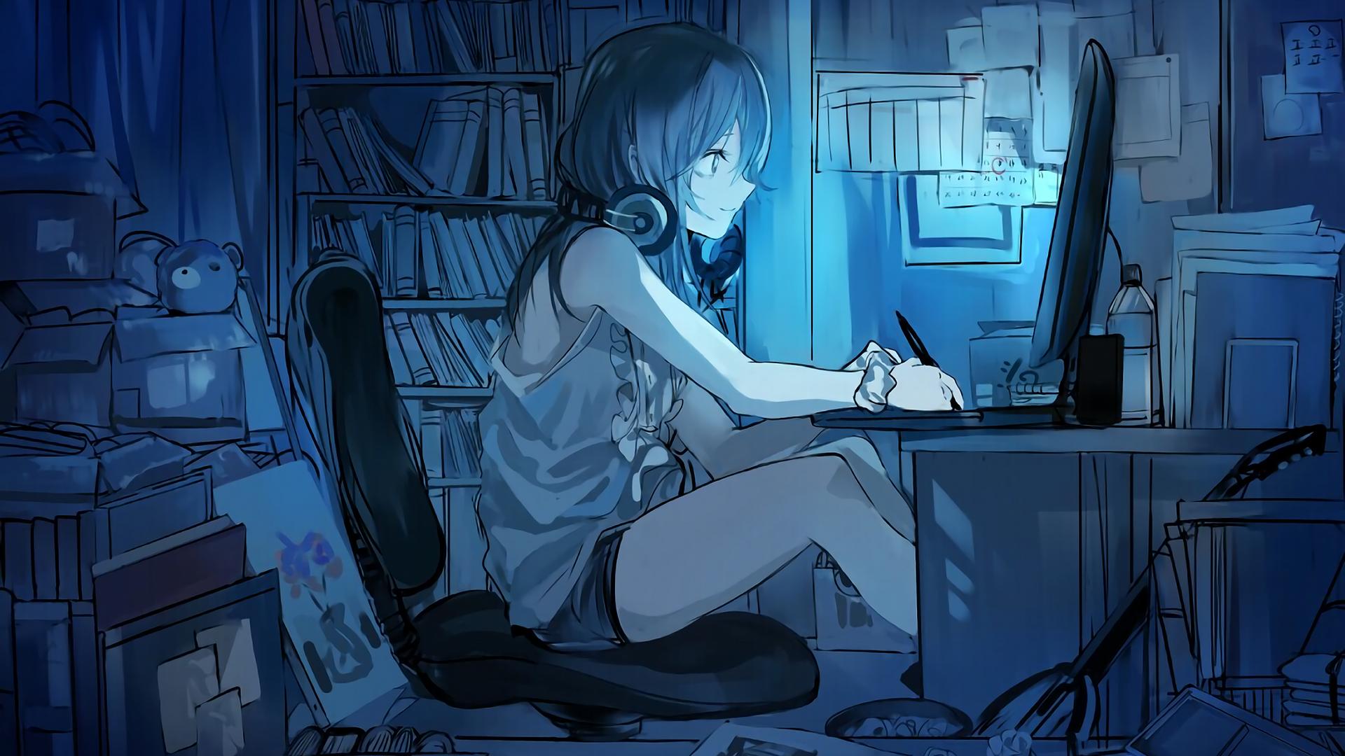 Shinobu Oshino Bakemonogatari wallpaper Anime wallpaper