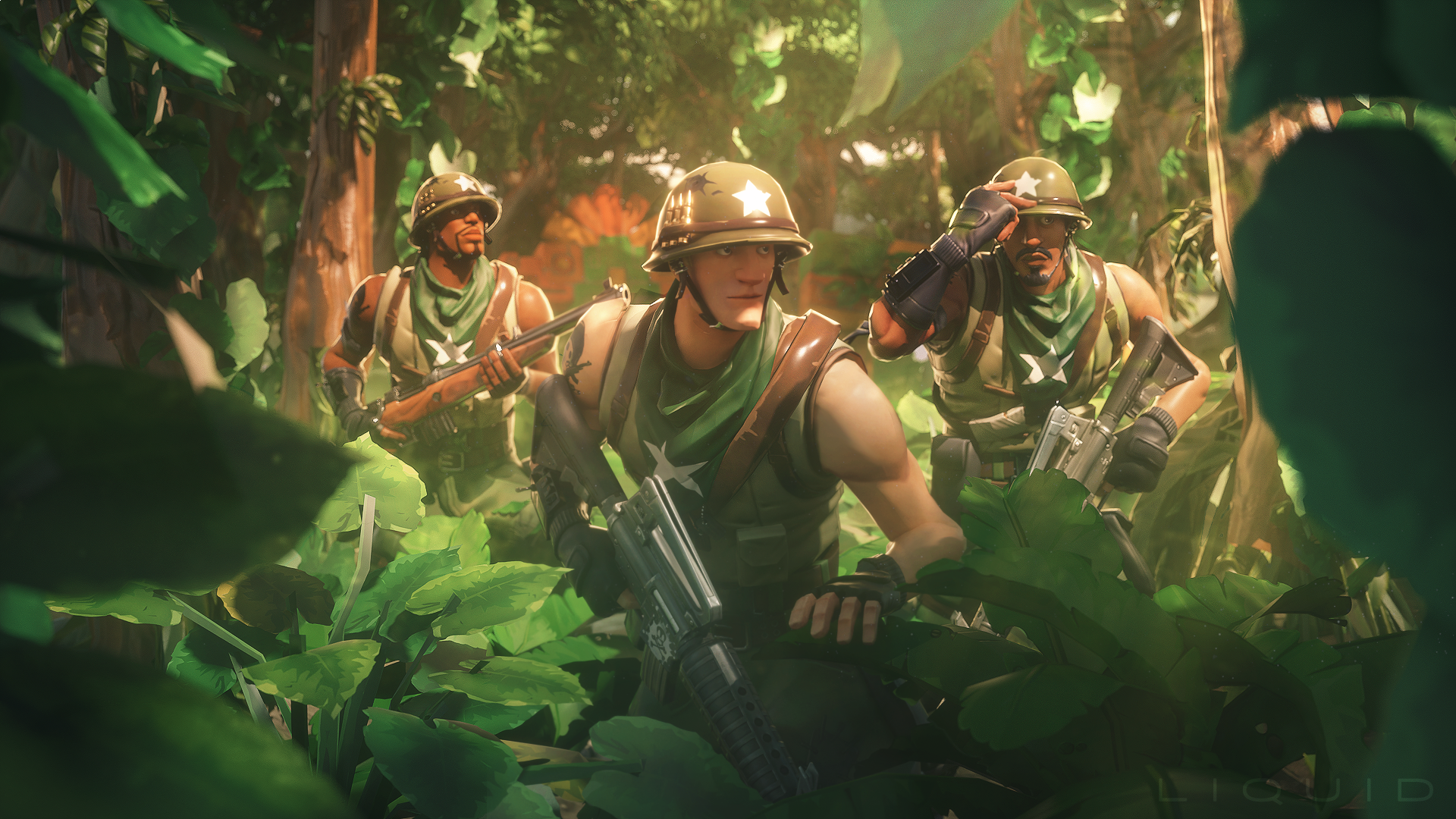 Wallpapers fortnite video games
