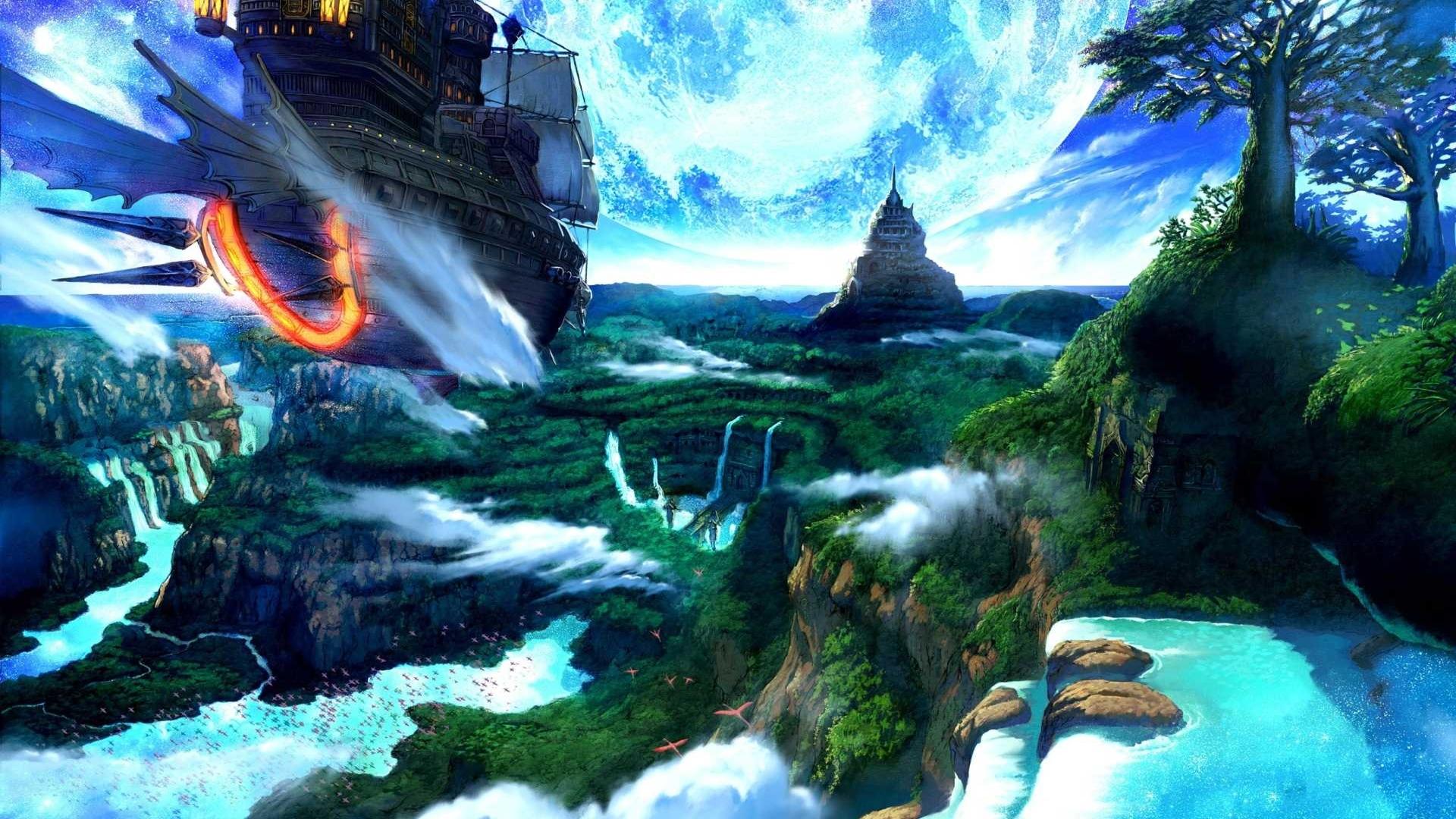 fantasy landscape Fantasy Landscape Wallpaper Fantasy